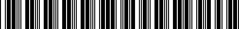 Barcode for 000071200AD