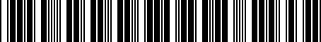 Barcode for 5G0072530A