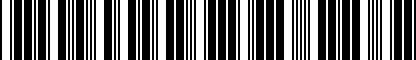 Barcode for 5K4071303