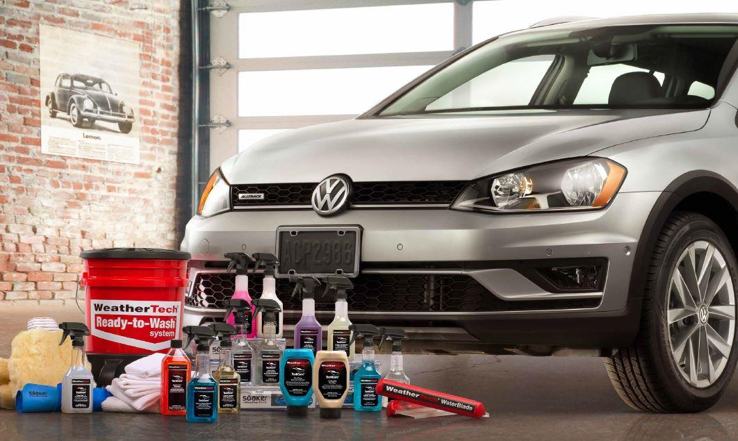 Diagram WeatherTech® TechCare® Launch Package for your 2016 Volkswagen Golf